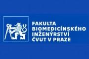 Fakulta biomedicínského inženýrství ČVUT logo