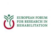 European forum for research in rehabilitation logo