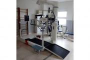 Lokomat - robotický přístroj pro rehabilitaci chůze (foto RHB odd. Ústí nad Labem, Maršálek)