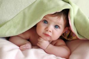 Dítě pod osuškou