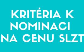 Kritéria k nominaci na cenu SLZT