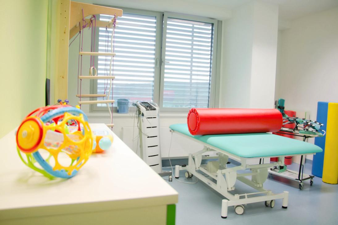 Cvičebna dětská rehabilitace (foto FN Motol pro web SRFM)