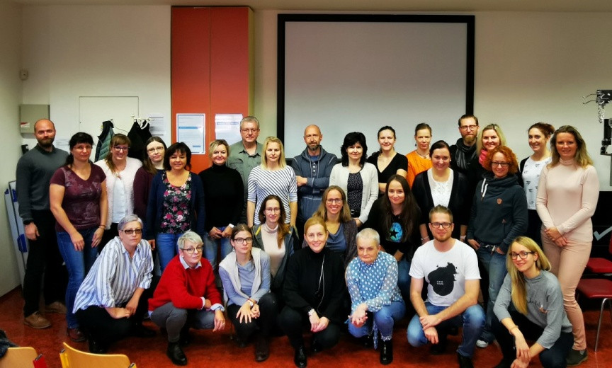 Foto kurz rehabilitatace Parkinsonovy nemoci 2019