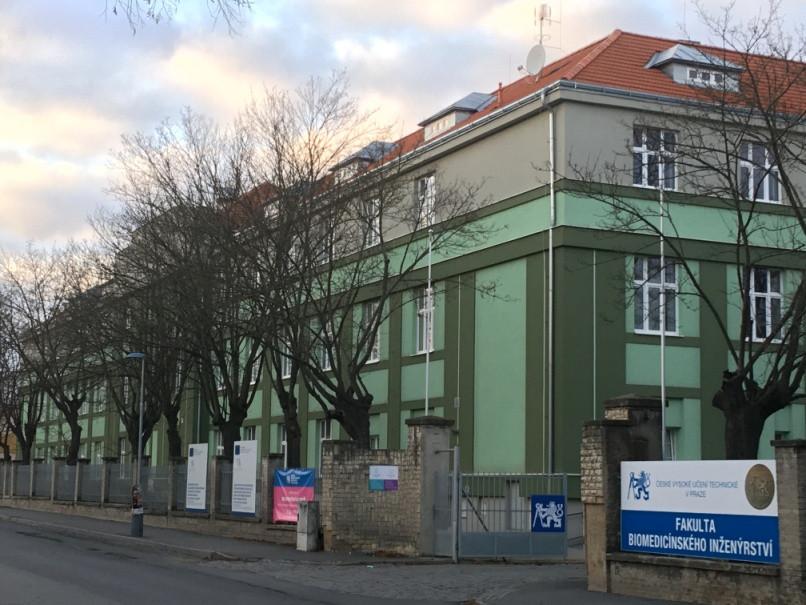 Fakulta biomedicínského inženýrství ČVUT budova Kladno